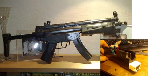 nintendo wii zapper gun mod controller