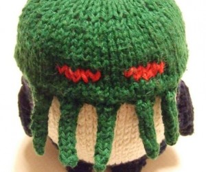 What'S Kraken: Knitted Cthulhu Penguin