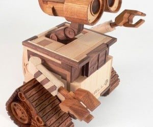 Wooden Wall-E: How Many Trees Had to Die?