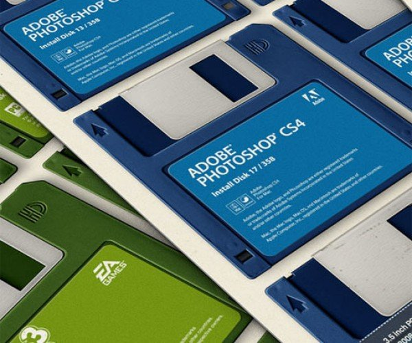 What if Software Still Shipped on 3.5-Inch Disks?