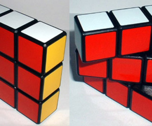 3 X 3 X 1 Rubik'S Cube is Just a Wee Bit Too Easy to Solve
