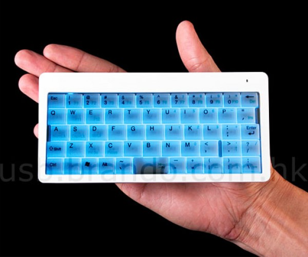 Tiny Backlit Wireless Keyboard: Fat Fingers Need Not Apply