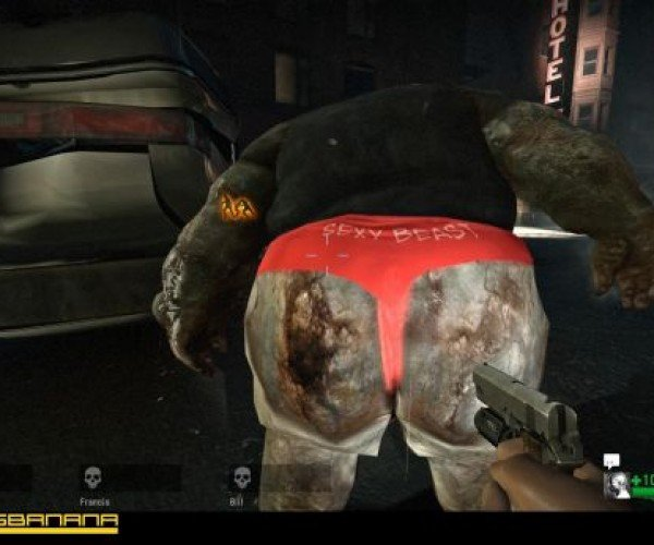 Thong4dead: L4d Mod Puts Thong Undies on Zombies