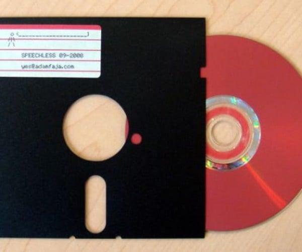 My Floppy Disk Ate My CD: Retro CD Packaging