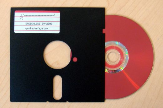 cd in a floppy 1