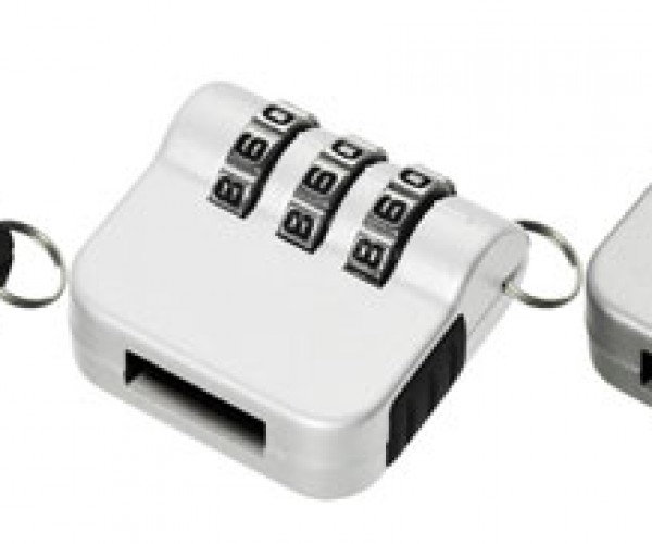 Lock It Down: Combination Lock for USB Flash Disks