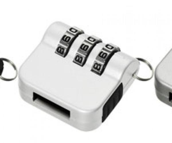 Lock It Down: Combination Lock for USB Flash Disks