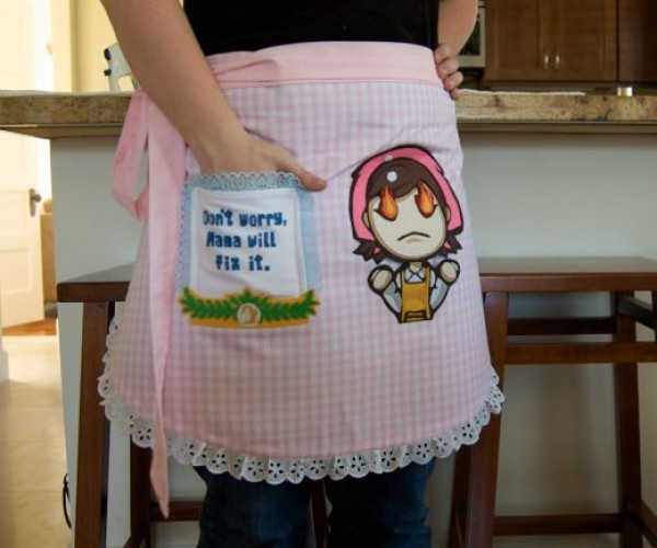Chop! Slice! Separate Yolk!: Cooking Mama Apron