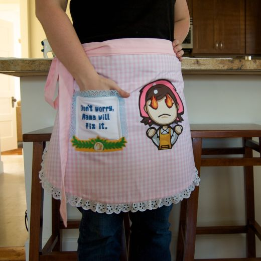 cooking mama apron