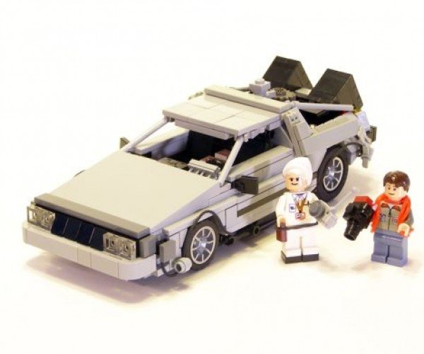 LEGO Delorean Showdown!!!