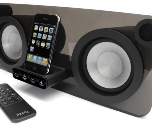 Ihome Ip1 Speaker System is Both Tubular and Flat-Ular