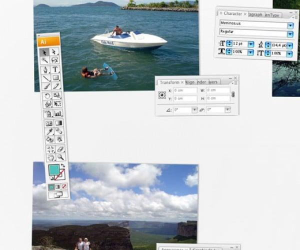 Photoshop and Illustrator Magnetic Photo Whiteboards