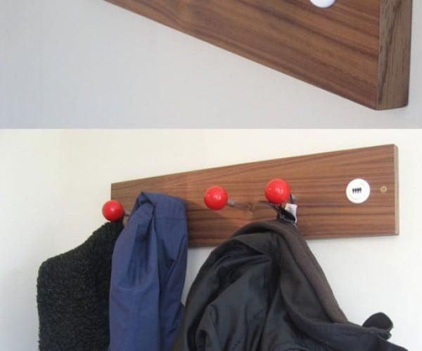 Arcade Joystick Coat Hangers: Control Your Clutter