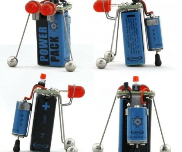 Machine Pp3 and Bob Battery Bots: 9-Volt Robot Goodness