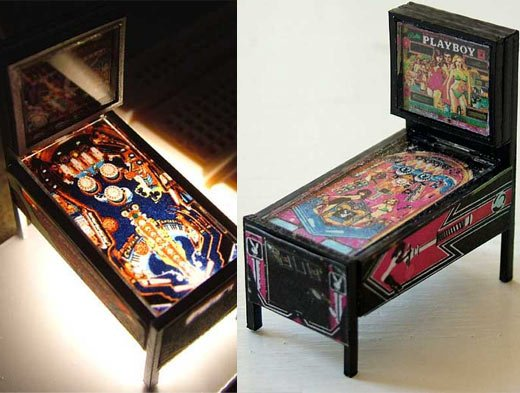 mini pinball machines