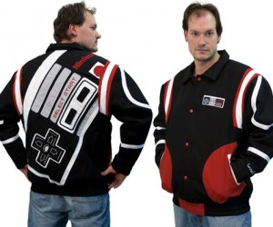 NES Controller Jacket Keeps You Warm While You Look Cool