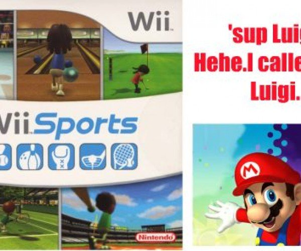 It'S a-Me, Your Best-(Sorta)-Selling Game Ever! Wii Sports!