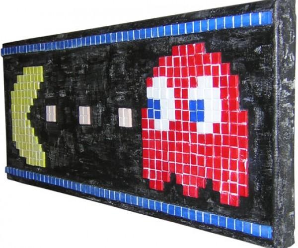Pac-Man Gets the Mosaic Treatment