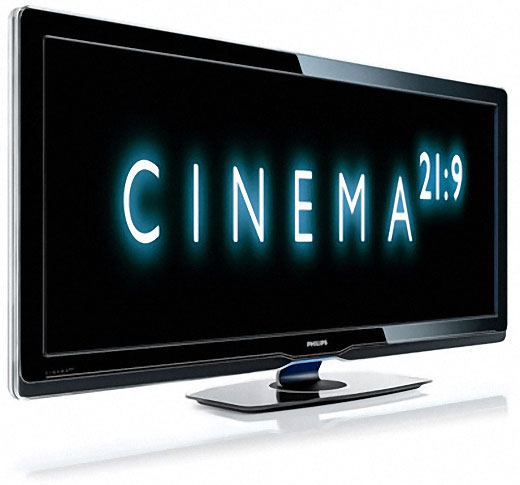 philips cinema lcd widescreen 21:9 display cinemascope 70mm