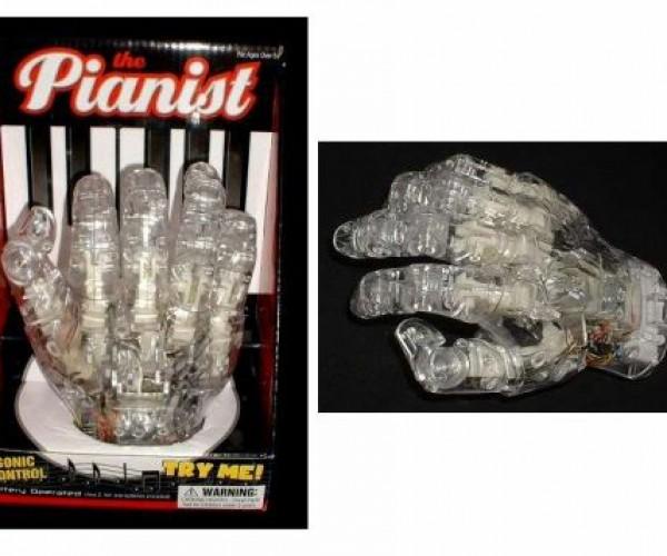Robots + Classical Music + Horror = Robotic Piano Hand