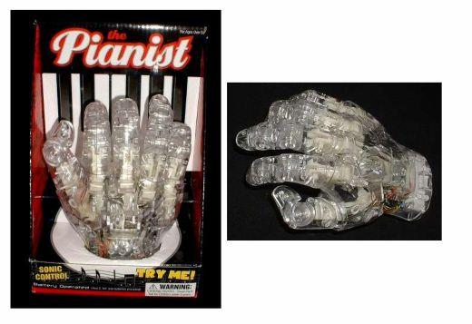 robotic piano hand