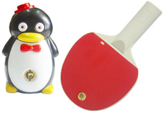 ping pong penguin video game console weird chinese