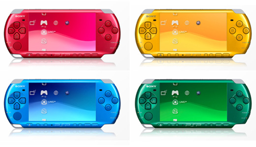 psp goes vibrant with carnival colors technabob