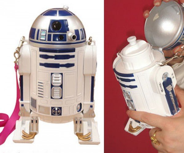 R2-D2 Sippy Water Bottle Carries R2d2h20 (or Booze)