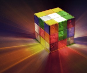 Rubik's Cube Lamp: Puzzling That Nobody has Made These Yet