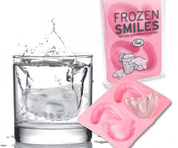 Frozen Smiles Add Bite to Your Beverages