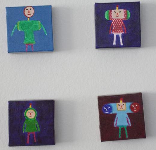 katamari cousins painting