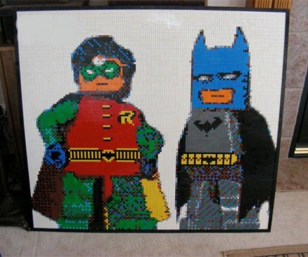 LEGO Batman Actually Made With LEGO Bricks