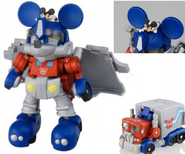 Mickey Mouse Prime: Mickey Goes Transformer