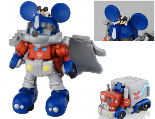 toy mickey mouse transformer