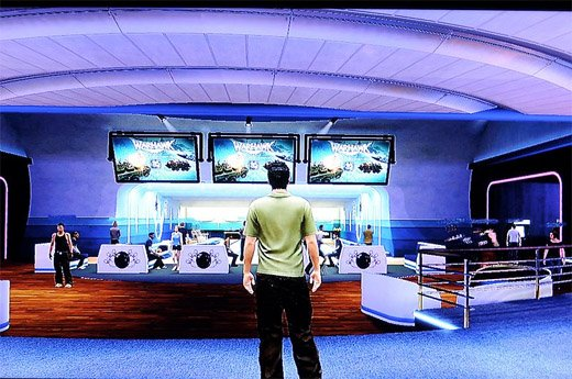 playstation home ps3 meeting space