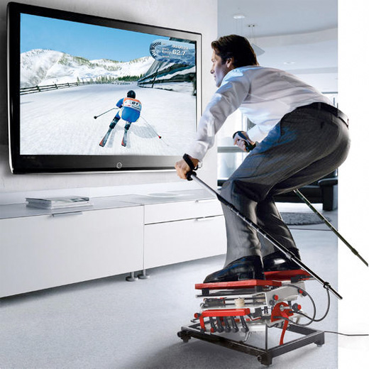 ski simulator home game