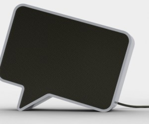Speech Bubble Speakers for the Very Literal