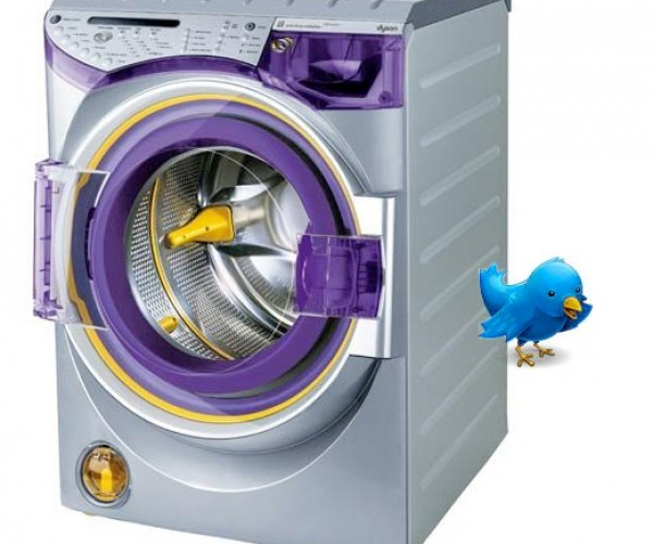 Geek Washing Machine Sends Techie Reminders