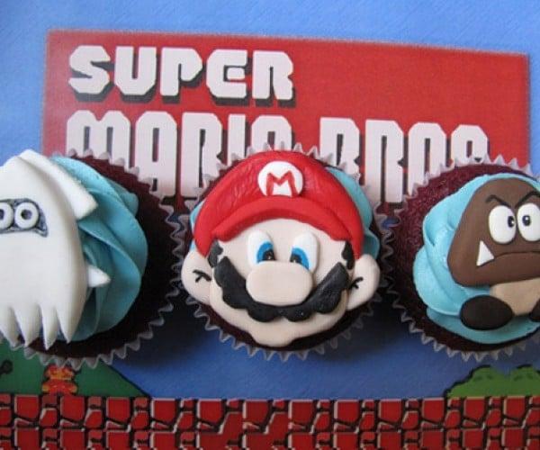It'S-a Snack: Mario Bros Cupcakes