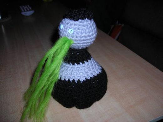 amigurumi zombie left 4 dead xbox 360 crochet craft
