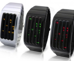 Tokyoflash Kisai Keisan LED Watch is a Curvaceous Beauty