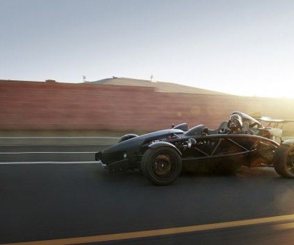 Told You He Wasn'T Far Behind: Darth Vader on a Race Car