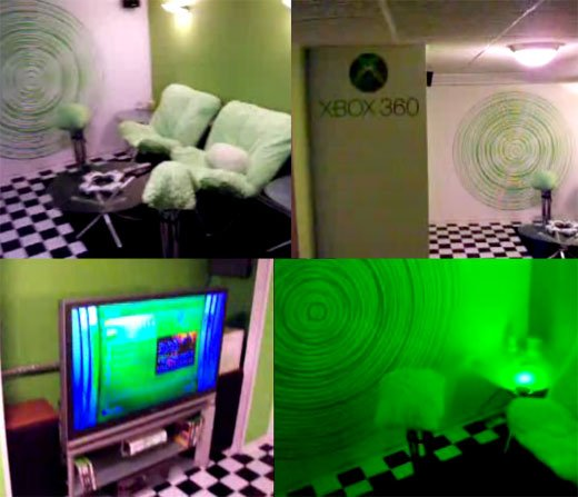 Xbox 360 Room Has Me Slightly Green With Envy Technabob
