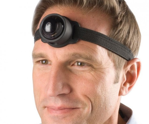 Third Eye Video Camera Makes You Look Like a Cyclops