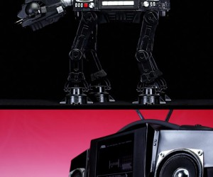 At-at Walker Boom Box Destroys Echo Base With Sound Waves