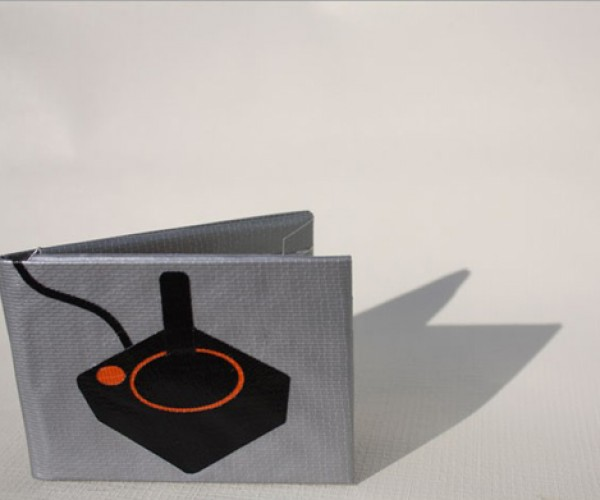 Atari Duct Tape Wallet: Because No One'S Going to Buy an Atari Leather Wallet