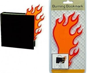 Burn During Reading [Best Bookmark Ever]
