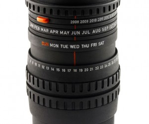 Camera Lens Calendar F. Stops in the Year 2038