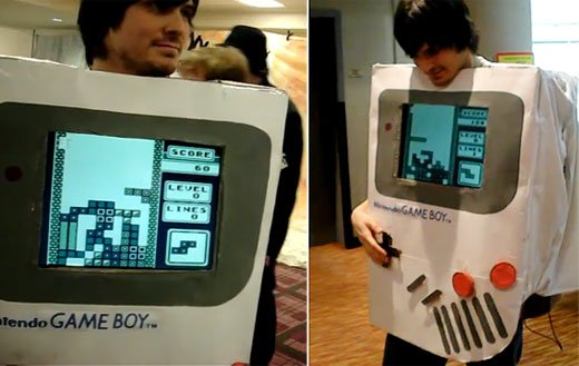 gameboy tetris cosplay