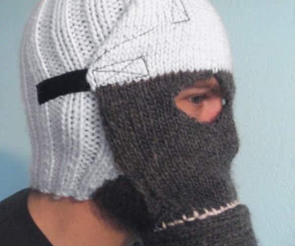 Knitted Gas Mask Will Keep You Safe From Imaginary Diseases